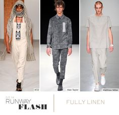 Trends - spring / summer 2014 - linen