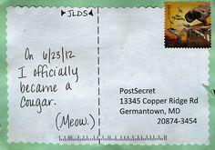 Hahahaha! ...   Secret from PostSecret.com