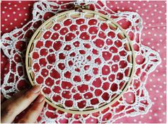 DIY: Doily Embroidery | Momtastic