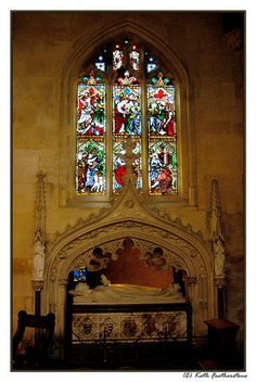 Tomb of Catherine Parr in the renovated St. Mary's Church, Sudeley Castle..