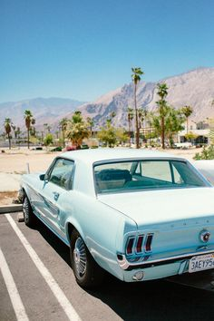 Mustang | Palm Springs style