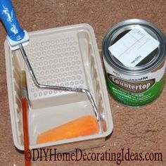 How to paint Laminate Counter Tops!