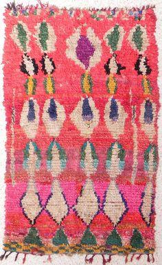 Boucherouite Rug #8 - 7 x 4