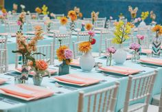 Modern Reception Decor // Photo: Christina Carroll Photography // Event Design: The Simplifiers // Featured: The Knot Blog