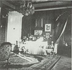 Another view of Alix's drawing room in Tobolsk.