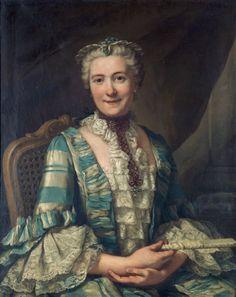 Portrait of a Noblewoman – Donat Nonotte1760