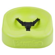 Bumbo Booster Seat - Lime - time to eat at the table