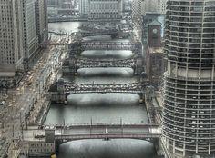 Chicago River - Bridges