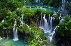 Plitvice Lakes National Park in Croatia  The oldest national park in Southeast Europe and the largest national park in Croatia.[2] The national park was founded in 1949 and is situated in the mountainous karst area of central Croatia, at the border to Bosnia and Herzegovina.