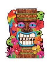 $10 for 50 ct Tiki Summer Value Pack Invitations-Party City