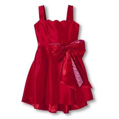The red dress from A