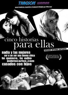 CINCO HISTORIAS PARA ELLAS son cinco películas cortas escritas y dirigidas por Erika Lust, pensadas para mujeres y parejas. Se trata de historias modernas, urbanas, atrevidas y explícitas, donde el sexo está presente de una manera natural y realista.