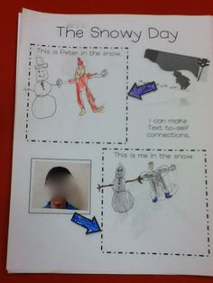 Ms.M's Blog: Text to-Self using The Snowy Day