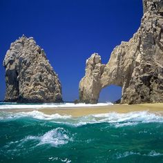 Been to Cabo San Lucas, Mexico several times but have yet to be there when you can walk under the arch.