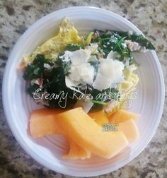 Creamy Kale and Eggs Recipe