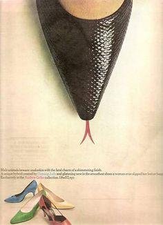 Shoe Advertisement Andrew Geller 1963