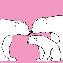 http://www.avalisa.com/  Polar bears Nursery Wall art from $100