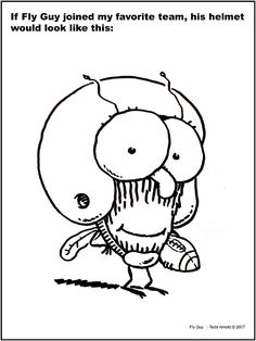 fly guy coloring pages