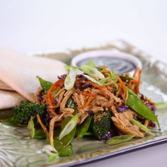The Chew | Recipe  | Clinton Kelly's Moo Shu Chicken And Vegetables