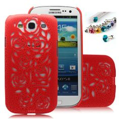 Cocoz®new Releases Romantic Red Roses Carved Palace Fashion Design Samsung Galaxy S3 I9300 Hard Case Cover Skin Retail Packing( Red Pc. Palace Carving Craft) -H016 Sale - http://mydailypromo.com/cocoznew-releases-romantic-red-roses-carved-palace-fashion-design-samsung-galaxy-s3-i9300-hard-case-cover-skin-retail-packing-red-pc-palace-carving-craft-h016-sale.html