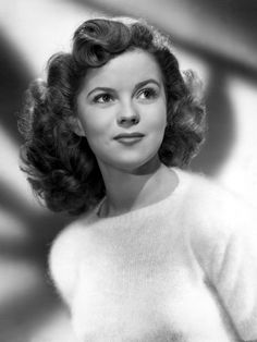 Shirley Temple as a Teenager - I use to love her movies even though it was way before my time.