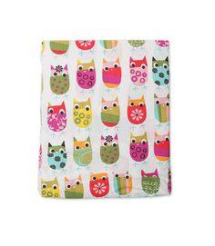 Owls Crib Sheet   Zutano: Clothes Unique As Your Baby @Zutano