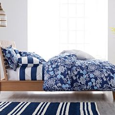 Bayside Floral Duvet Cover | The Company Store
