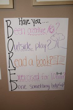 """BORED quote for those """"I'm boreddddddd"""" moments.  I so see myself making this poster.."""