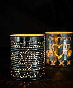 blechdosen on pinterest upcycling coffee cans and tin cans. Black Bedroom Furniture Sets. Home Design Ideas