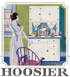 1921 Hoosier cabinet