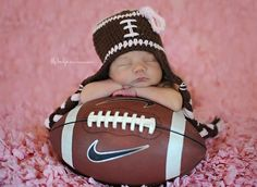 Girlie Girl Football Hat  www.facebook.com/maggiescloset09