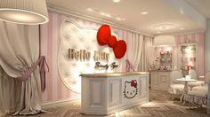 Hello Kitty beauty spa in Dubai!