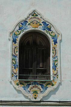 Ceramic tile details. Manises, Spain
