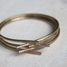 Unique bangle barbed wire by PraxisJewelry on Etsy, Praxis Jewelry