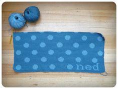 FREE Polka dot spotty blanket pattern. Amazing!