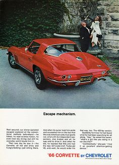 1966 Chevrolet Corvette Sting Ray Sport Coupe