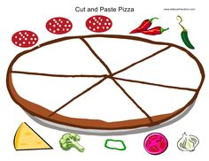 Cut and Paste Pizza