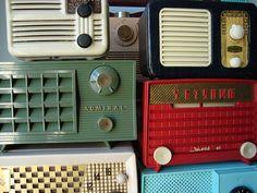 vintage, radios