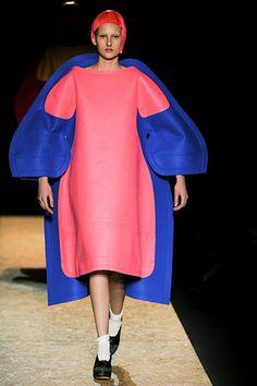 Dress on a dress.   Comme des Garçons Fall 2012