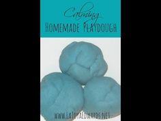 Easy and Calming Homemade Playdough
