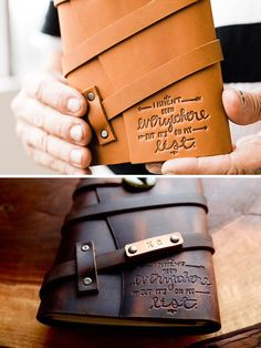 Personalized Leather
