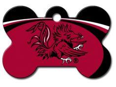 South Carolina Gamecocks Dog ID Tag