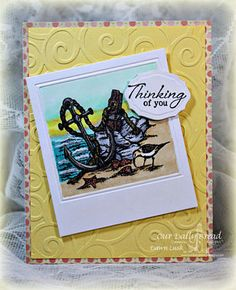 Stamps - Our Daily Bread Designs Anchor the Soul, ODBD Blushing Rose Paper Collection, ODBD Custom Elegant Oval Die