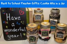 Back to School Gifts in a Jar from Marty's Musings
