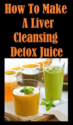 How To Make A #Liver Cleansing #Detox Juice. Find Out More ... http://slimmingtips.givingtoyou.com/liver-cleansing-detox-juice