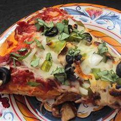 Homemade Veggie Pizza Allrecipes.com
