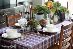 Fall Decorating: Finding Fall Home Tours 2013 - Finding Home