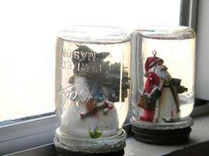 Grand Design: Mason jar snow globes
