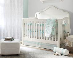 Girls' Nursery Ideas | Pottery Barn Kids #potterybarnkids #spring2014