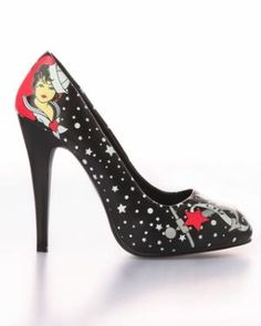 T.U.K. Sailor Sky High Heel Shoe (Vegan) - Punk.com
